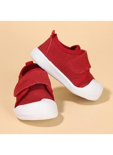 Vicco  950.E19K.224 Anka Kız/Erkek Bebek İlk Adım Ayakkabı Kırmızı